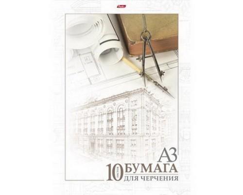 Бумага для черчения А3 10 листов Архитектура