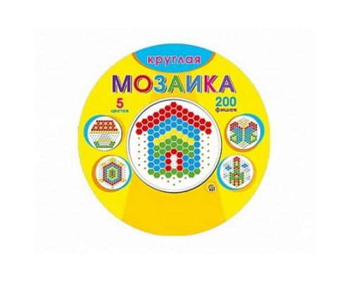 Мозаика круглая 200шт. (М-0140)