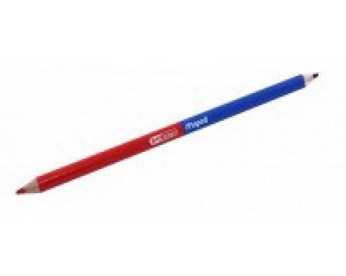 Карандаш BICOLOR двухцветный синий/красный