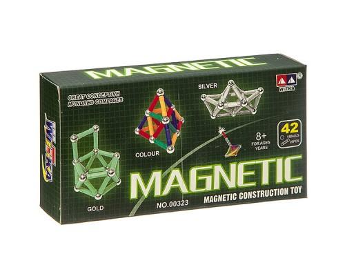 Конструктор Магнитный MAGNETIC, 42 детали 00323B.