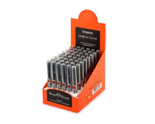 Грифели для карандаша GRAPHIX HB, 2.0мм (5штук)