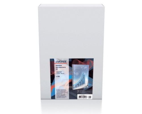 Обложка для переплета А4 deVENTE 150 мкм пластик прозрачный