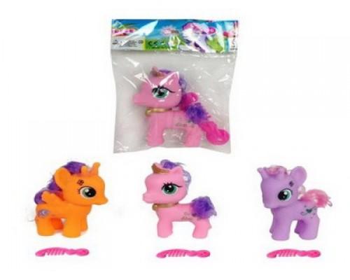 Лошадка Пони цветная малая 45893