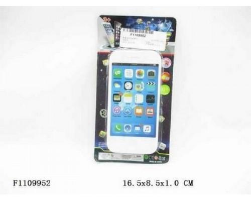 Телефон мобильный Смартфон малый (свет,звук) 44539