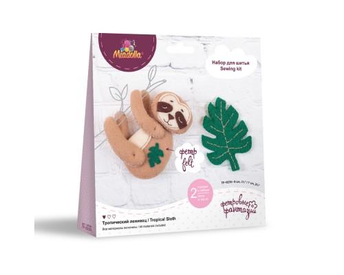 """Набор для изготовления игрушек """"Miadolla"""" Тропический ленивец"""