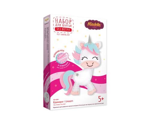 """Набор для изготовления игрушек """"Miadolla"""" Единорог"""