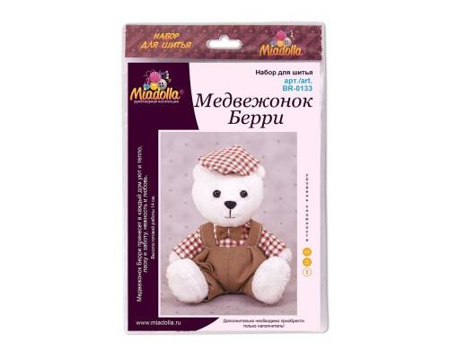 """Набор для изготовления игрушек """"Miadolla"""" Медвежонок Берри"""