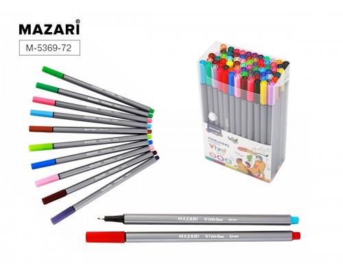 Линеры 72 цвета VIVO LINE 0,4 мм,