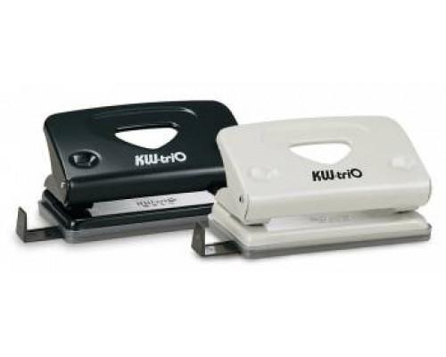 Дырокол на 10 листов Kw-Trio Classic Mini 941 цвета ассорти с линейкой