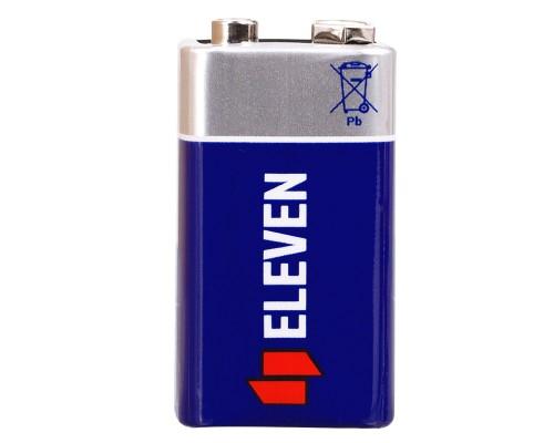 Батарейка Eleven MN1604 (6F22) Крона, солевая, OS1
